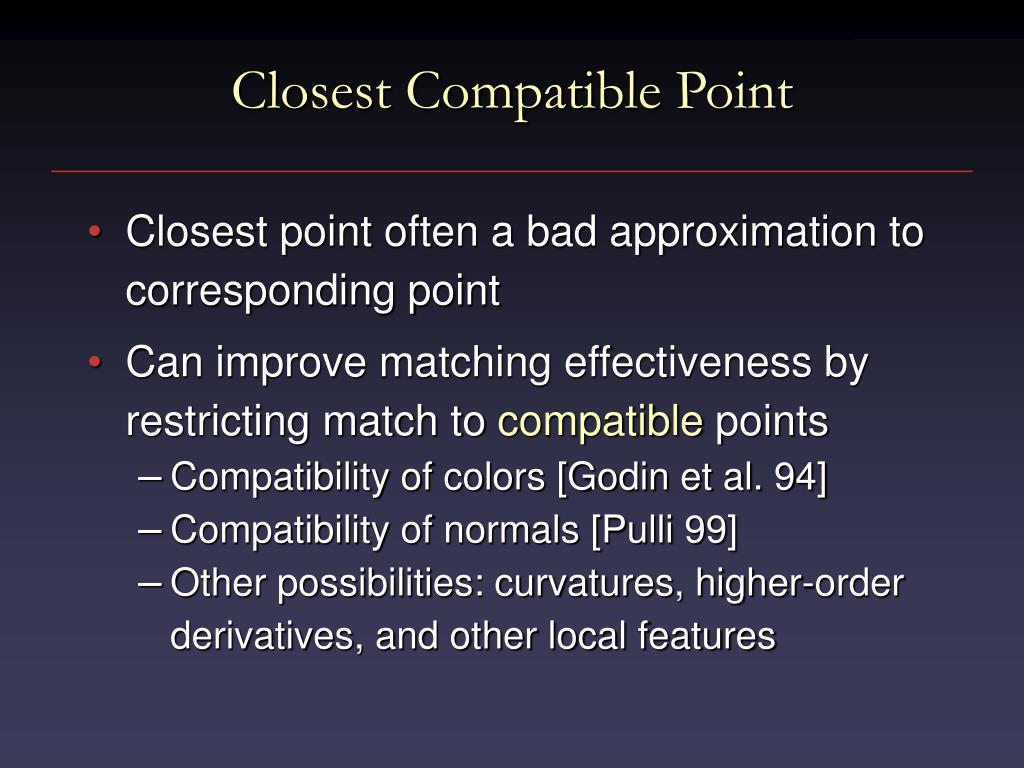 Closest Compatible Point