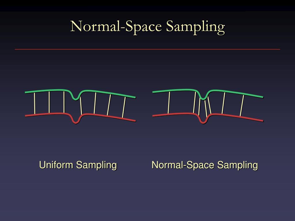 Normal-Space Sampling