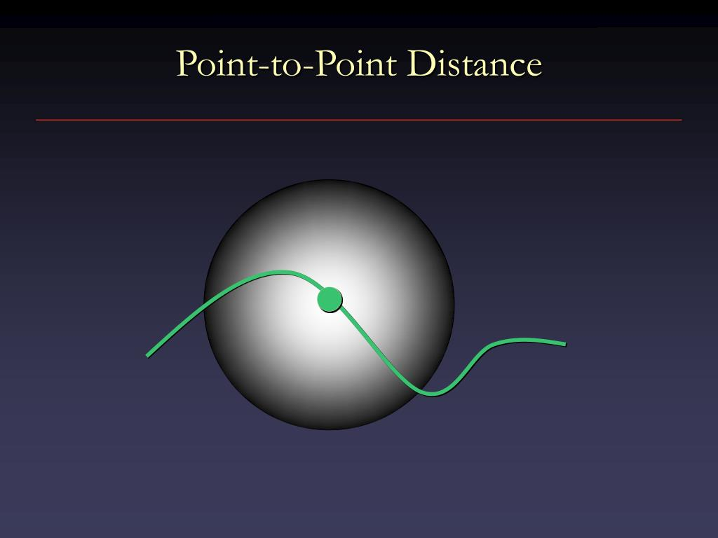 Point-to-Point Distance