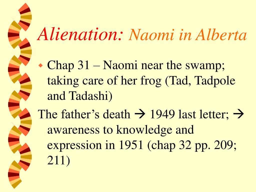 Alienation: