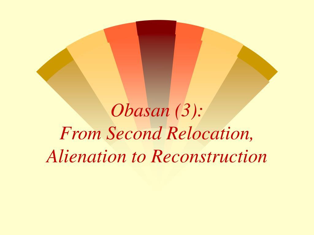 Obasan (3):