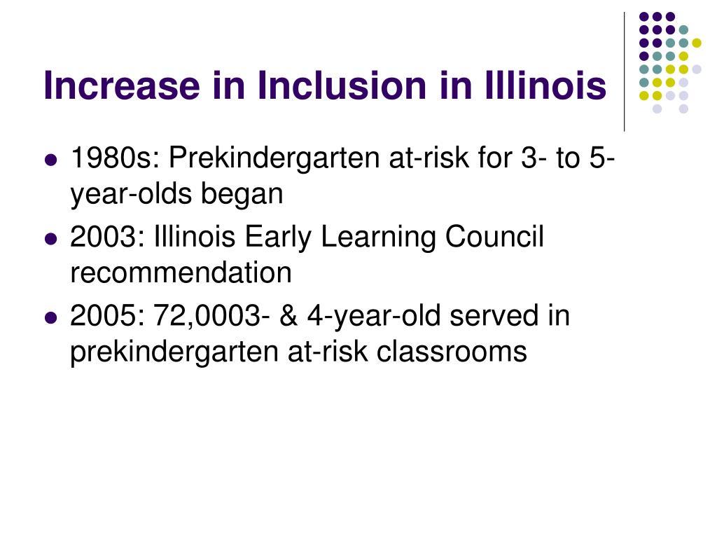 Increase in Inclusion in Illinois