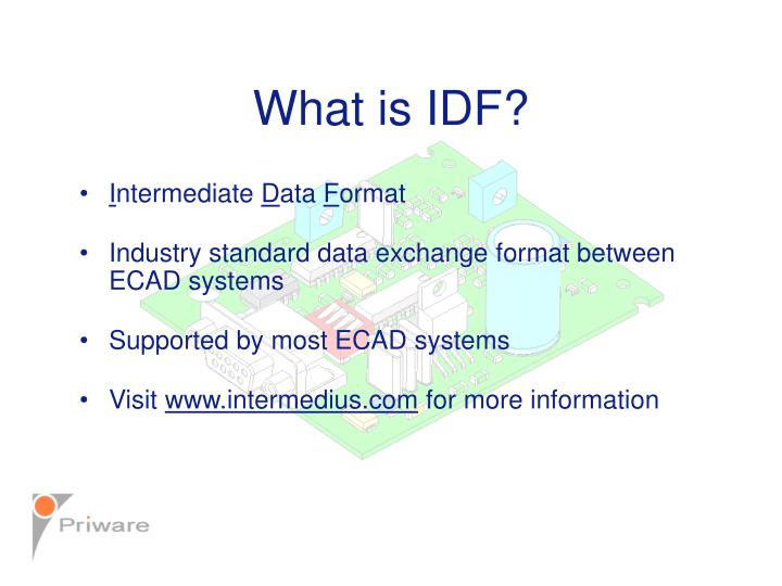 What is idf