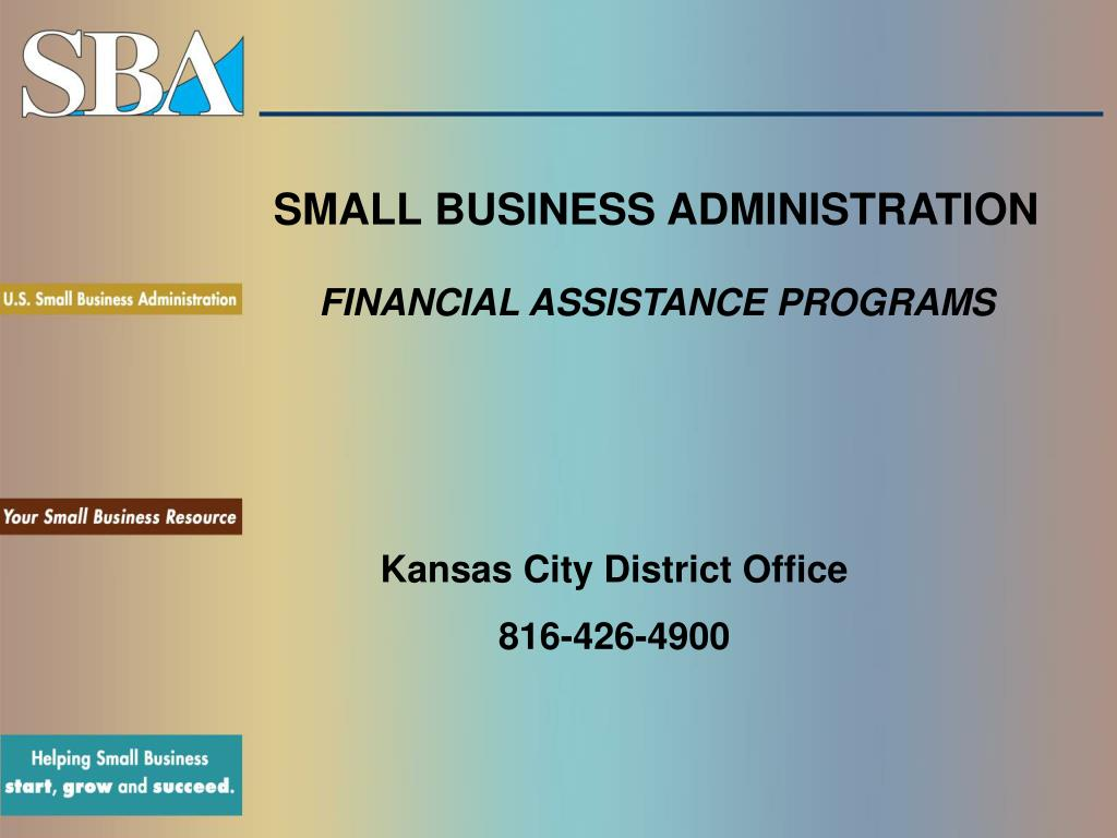small business administration financial assistance programs l.
