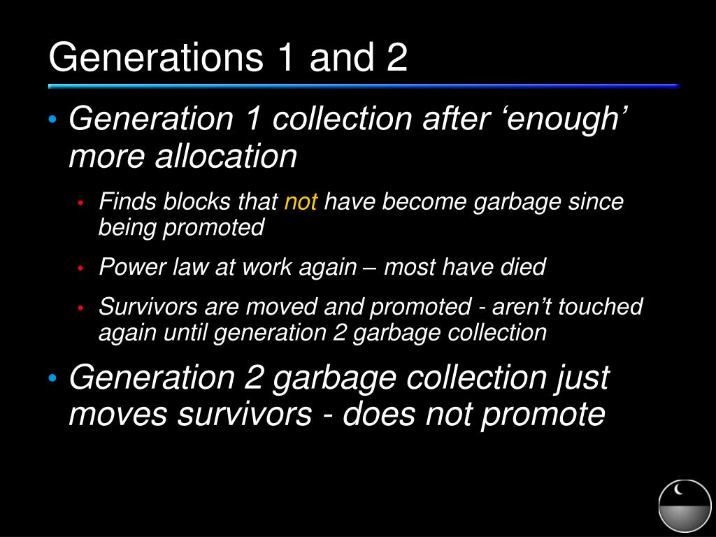 Generations 1 and 2