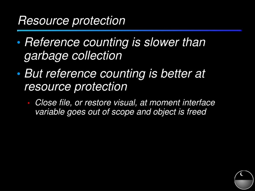 Resource protection