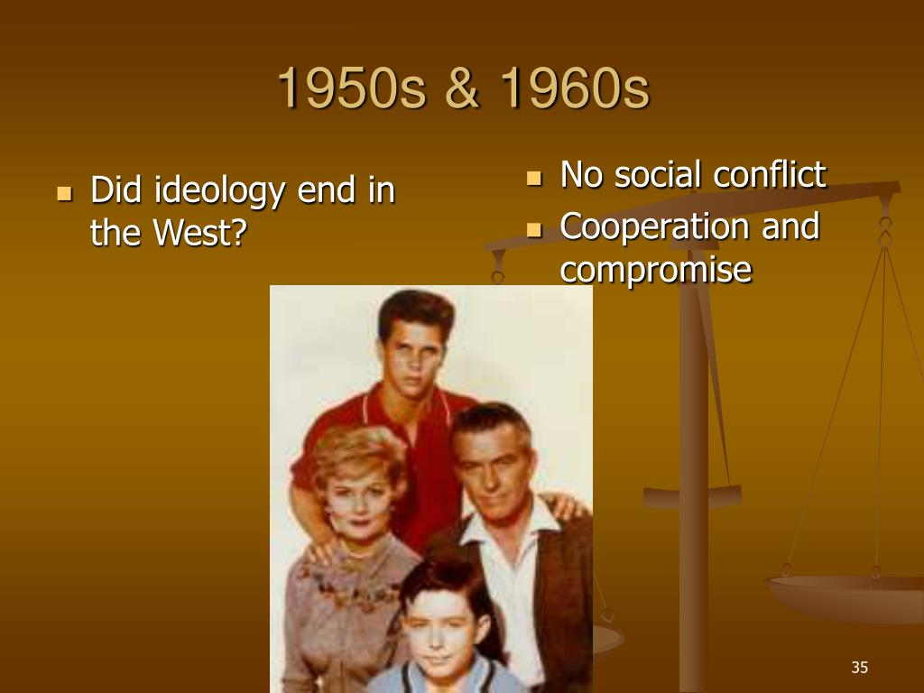 Did ideology end in the West?