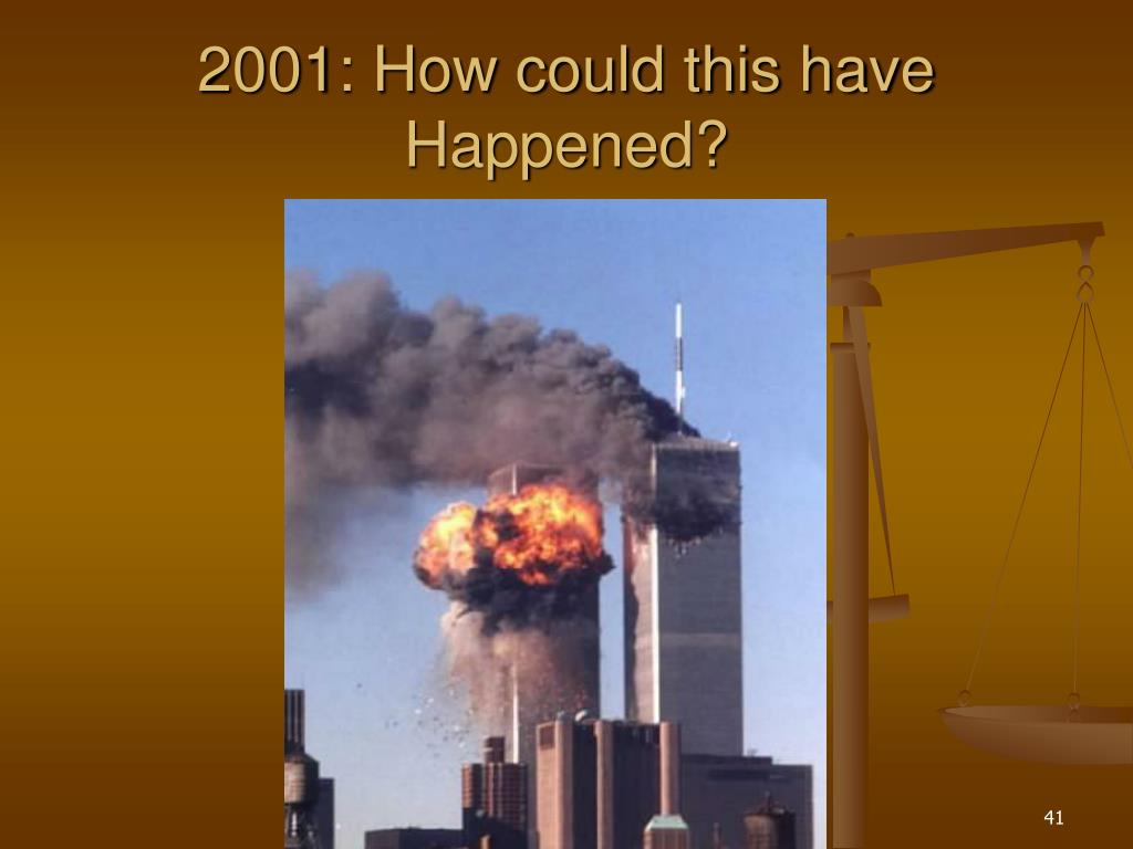 2001: How could this have Happened?