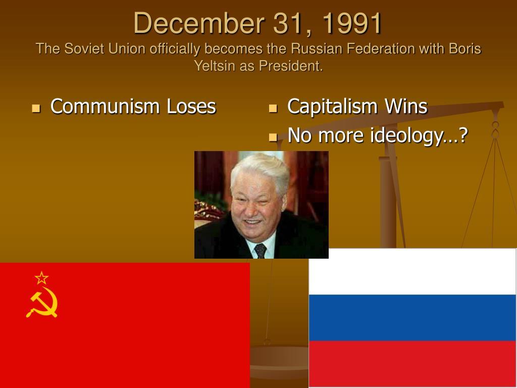 Communism Loses
