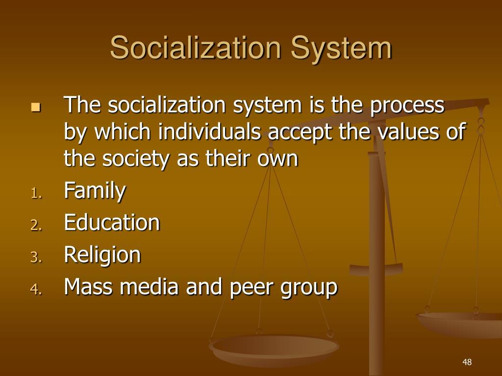 Socialization System