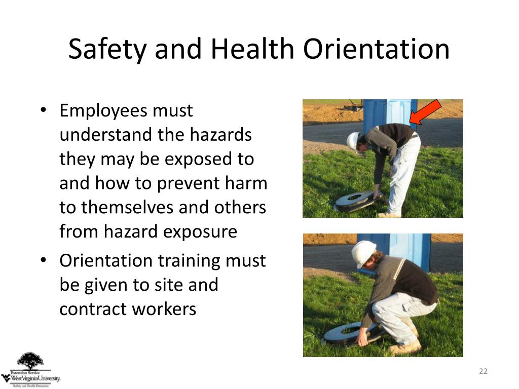 Safety and Health Orientation