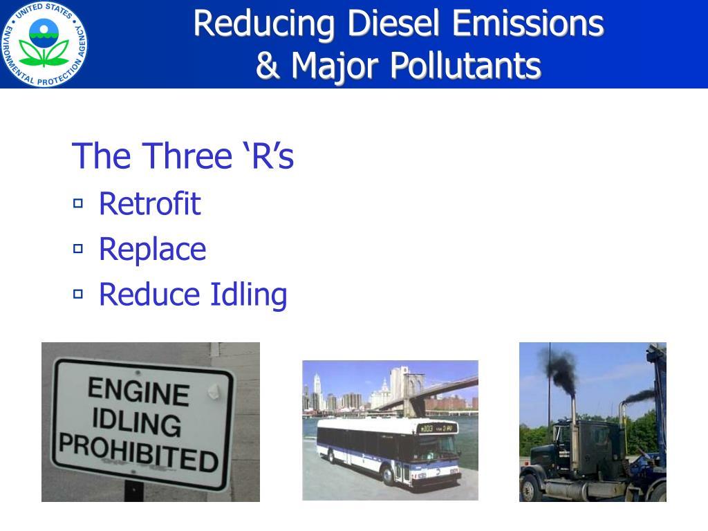 Reducing Diesel Emissions