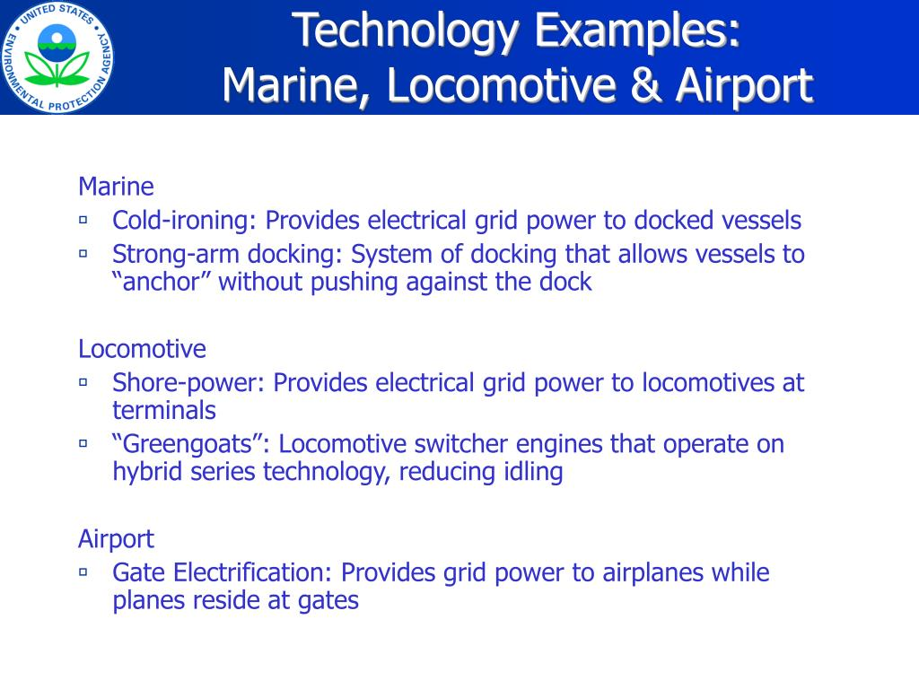 Technology Examples: