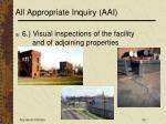 all appropriate inquiry aai52
