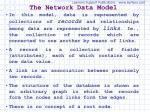 the network data model