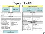 payors in the us