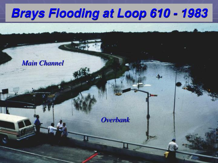 Brays Flooding at Loop 610 - 1983