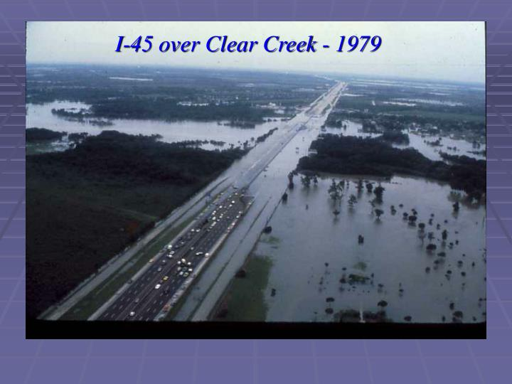 I-45 over Clear Creek - 1979