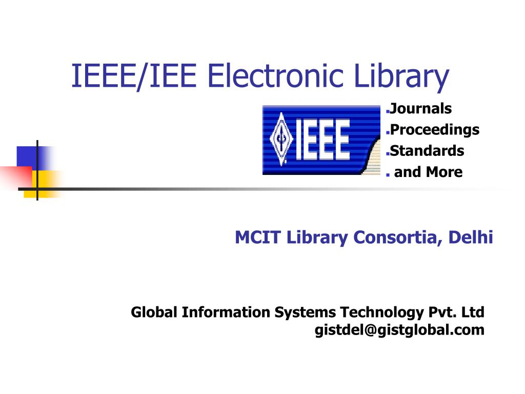 IEEE/IEE Electronic Library