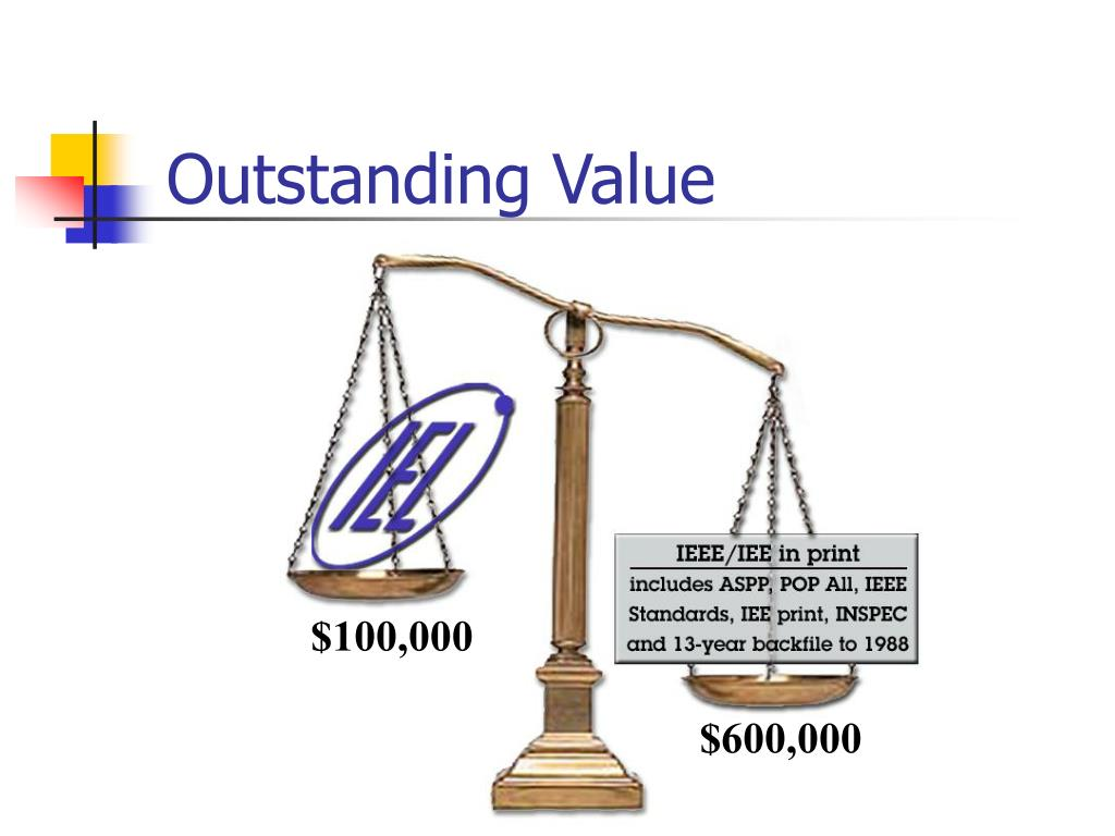 Outstanding Value