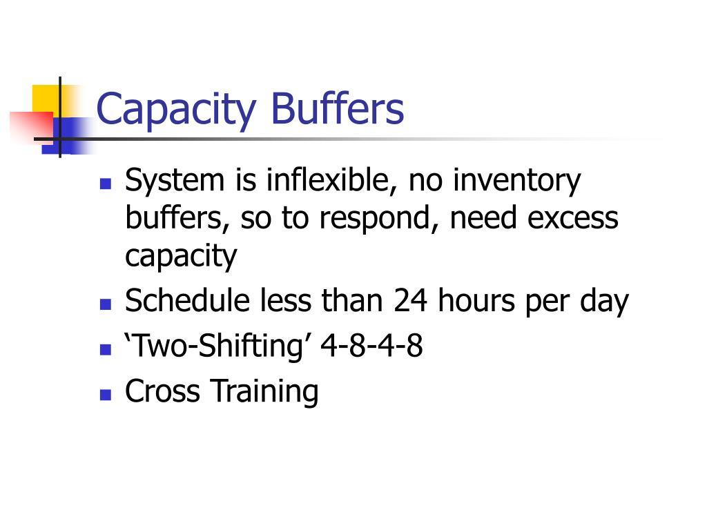Capacity Buffers