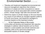 environmental sector