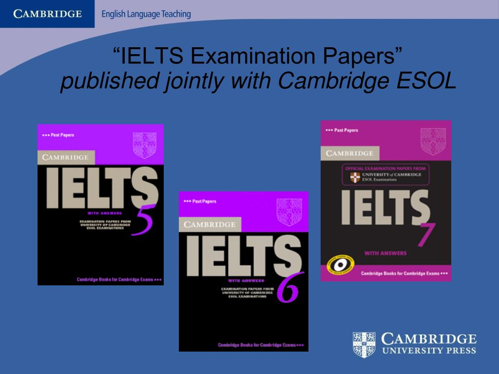 """""""IELTS Examination Papers"""""""
