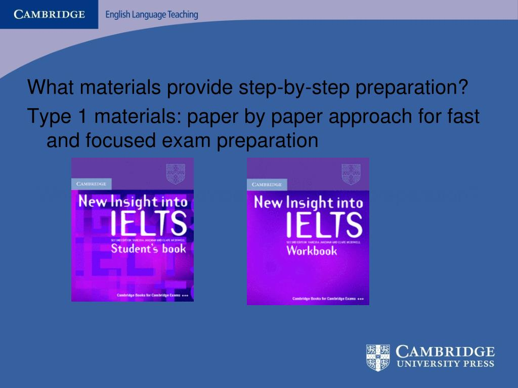 What materials provide step-by-step preparation?