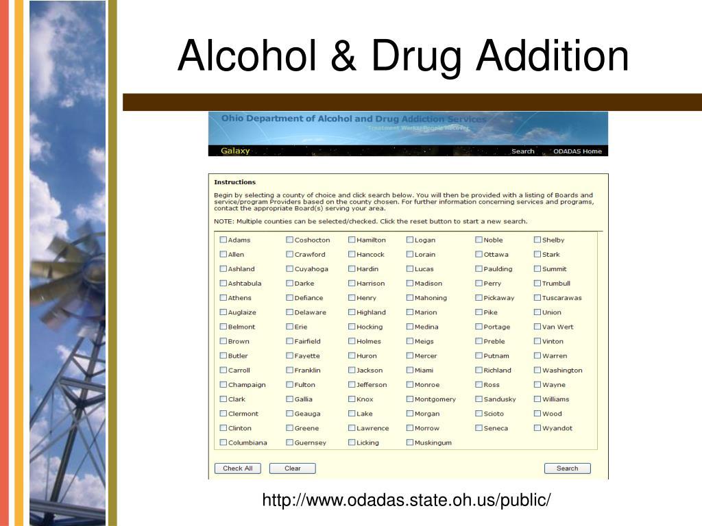 Alcohol & Drug Addition