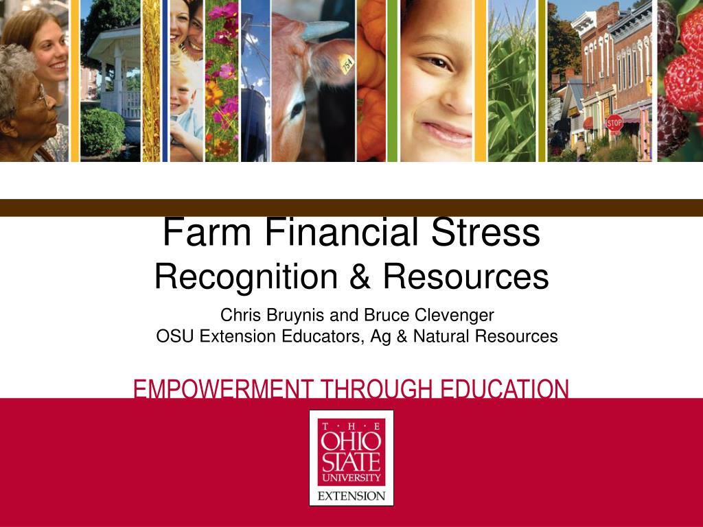 Farm Financial Stress