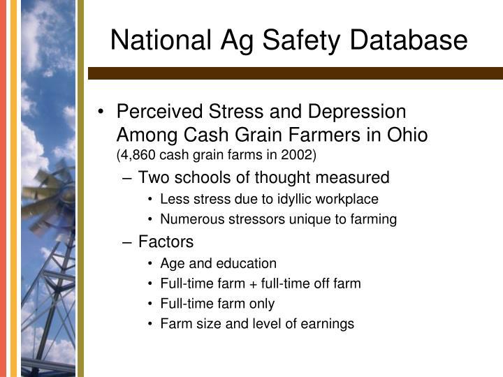 National ag safety database