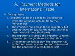 a payment methods for international trade7