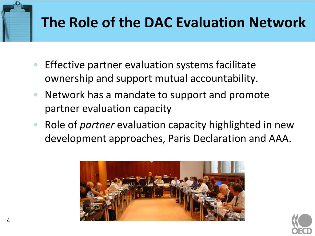 The Role of the DAC Evaluation Network
