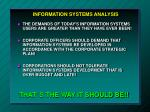 information systems analysis2