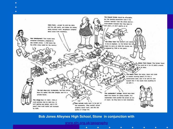 Bob Jones Alleynes High School, Stone