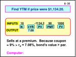 find ytm if price were 1 134 20