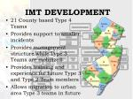 imt development