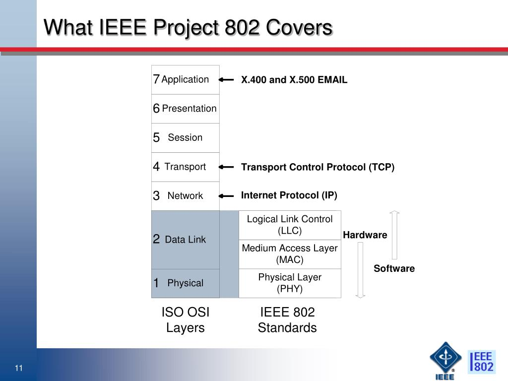 What IEEE Project 802 Covers