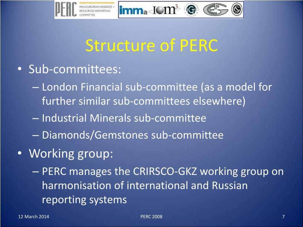 Structure of PERC