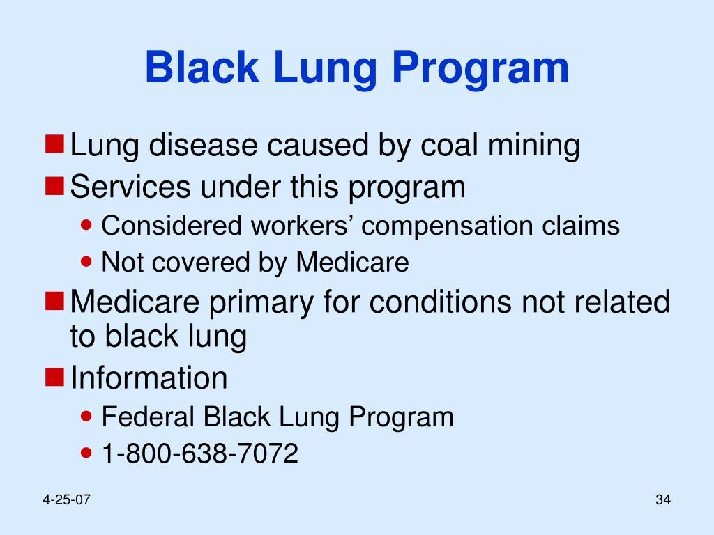 Black Lung Program