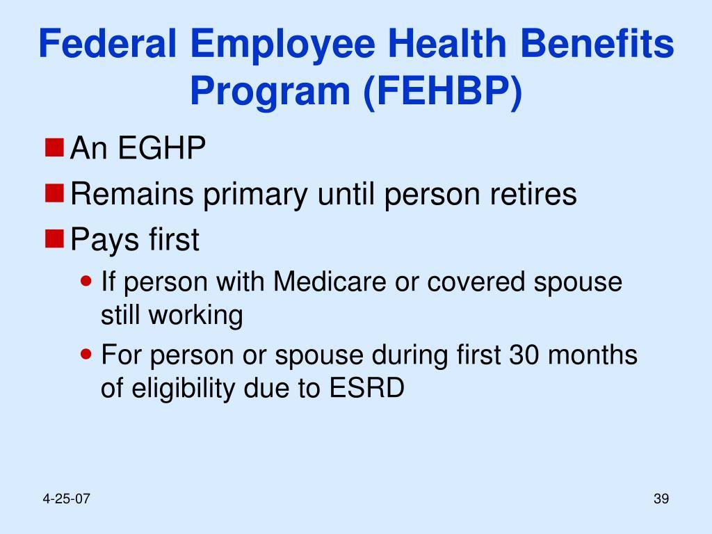 Federal Employee Health Benefits Program (FEHBP)