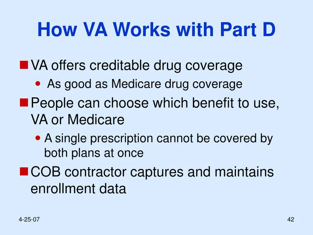 How VA Works with Part D