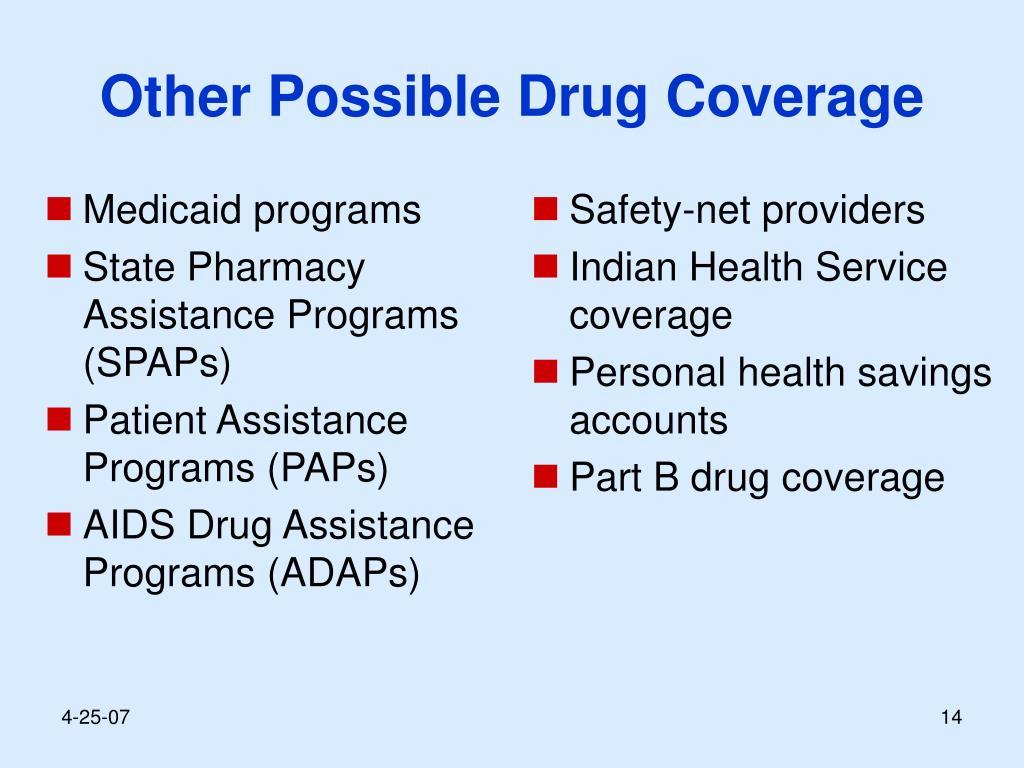 Medicaid programs