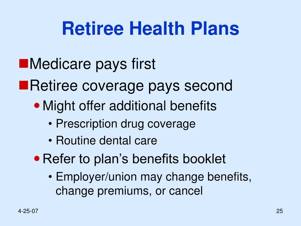 Retiree Health Plans