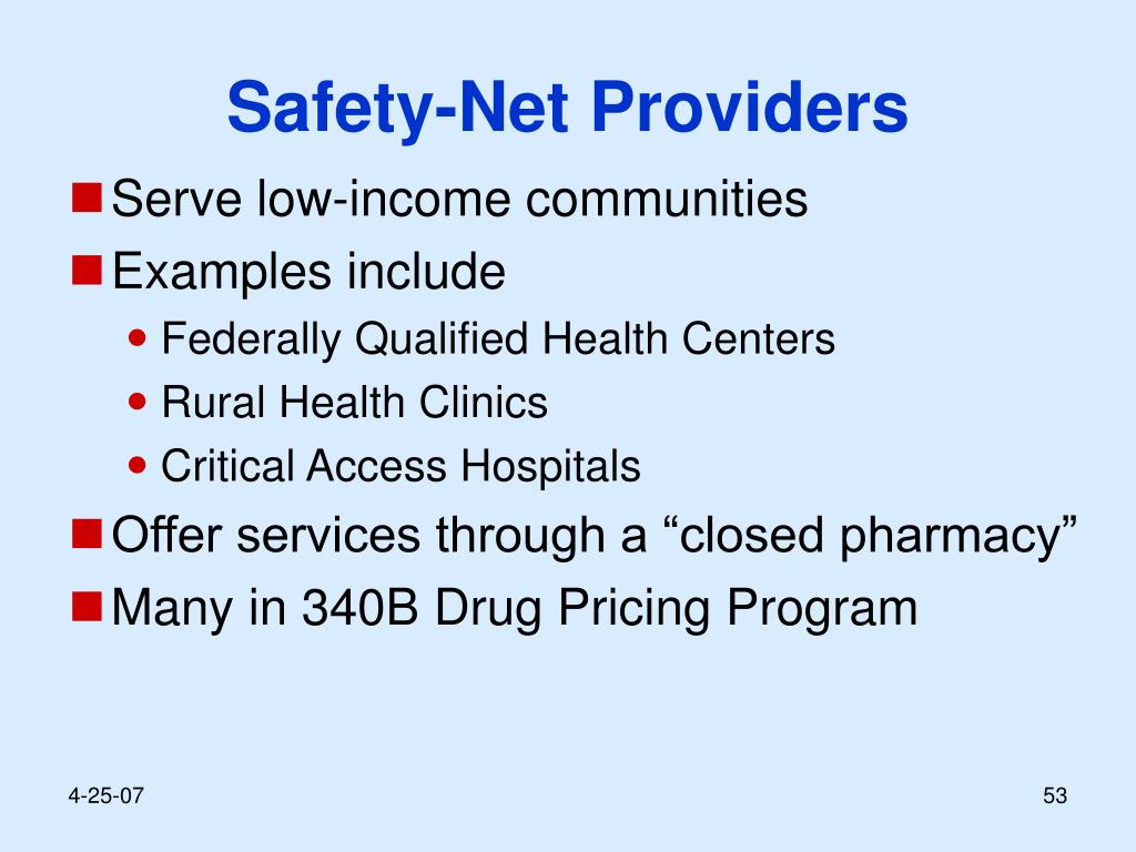 Safety-Net Providers