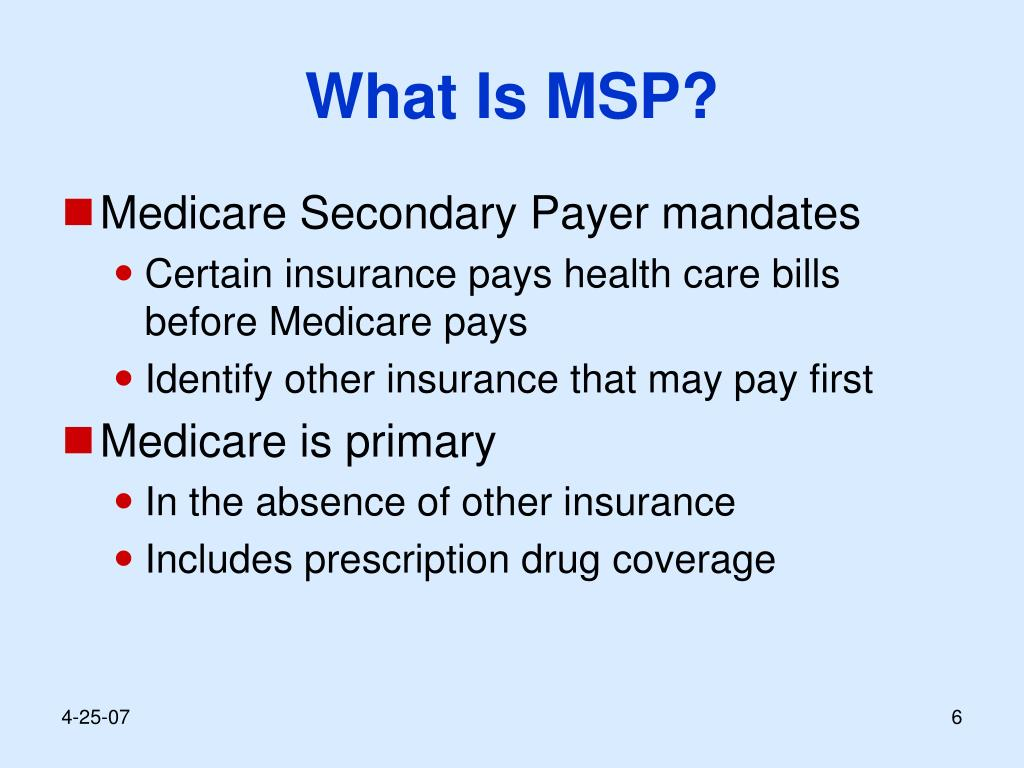 What Is MSP?