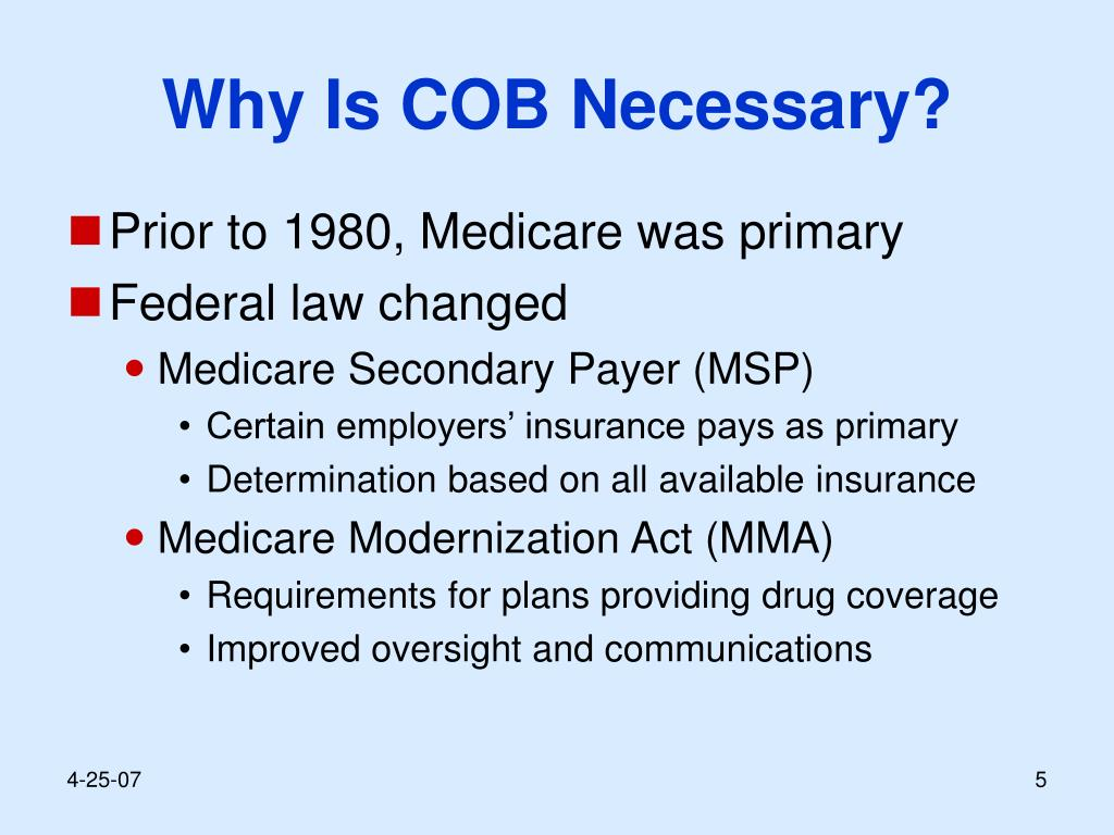 Why Is COB Necessary?