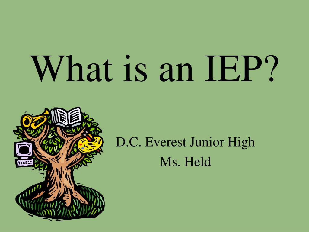 what is an iep l.