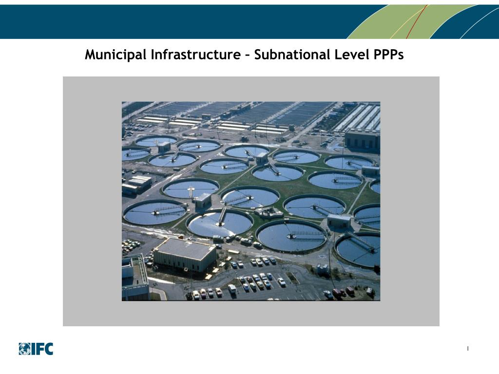 Municipal Infrastructure – Subnational Level PPPs