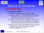 todo list by each partner11